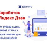Заработок на Яндекс Дзен 2020 [Владимир Данилов]