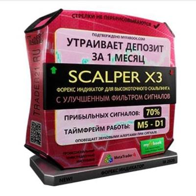 Комплект из 6 продуктов форекс Scalper X3