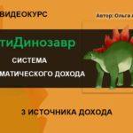 АнтиДинозавр — Система Автоматического дохода от 2000 руб в день