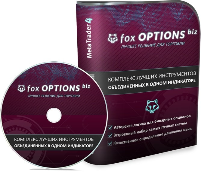 Fox Options Biz - Авторский Индикатор для Бинарных Опционов