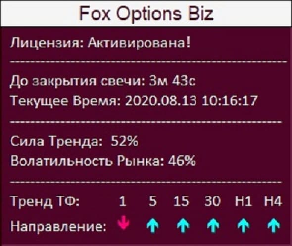 Fox Options Biz