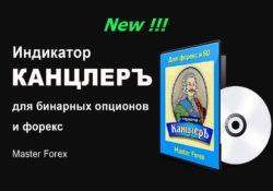 Индикатор КАНЦЛЕРЪ для бинарных опционов и форекс Master Forex