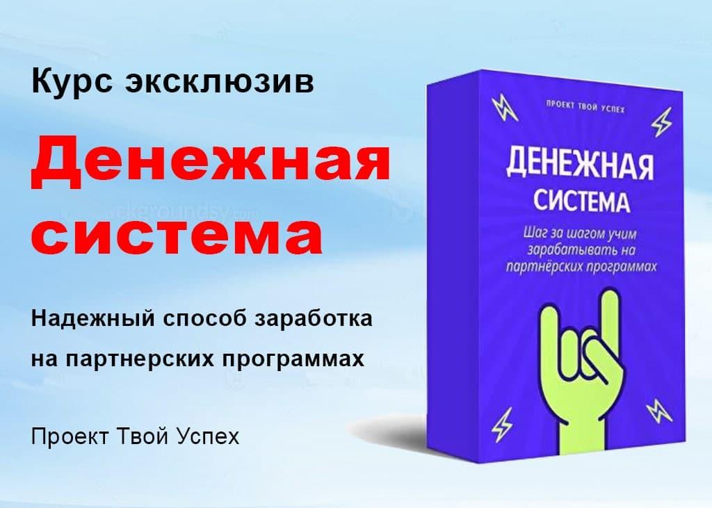 Денежная система Проект Твой Успех