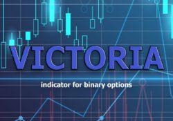 Индикатор VictoriA для бинарных опционов и форекс