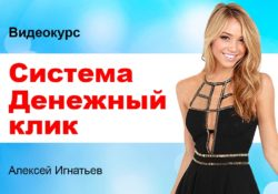 Система Денежный клик Алексей Игнатьев