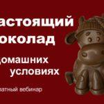 Настоящий шоколад в домашних условиях [Бесплатный вебинар]
