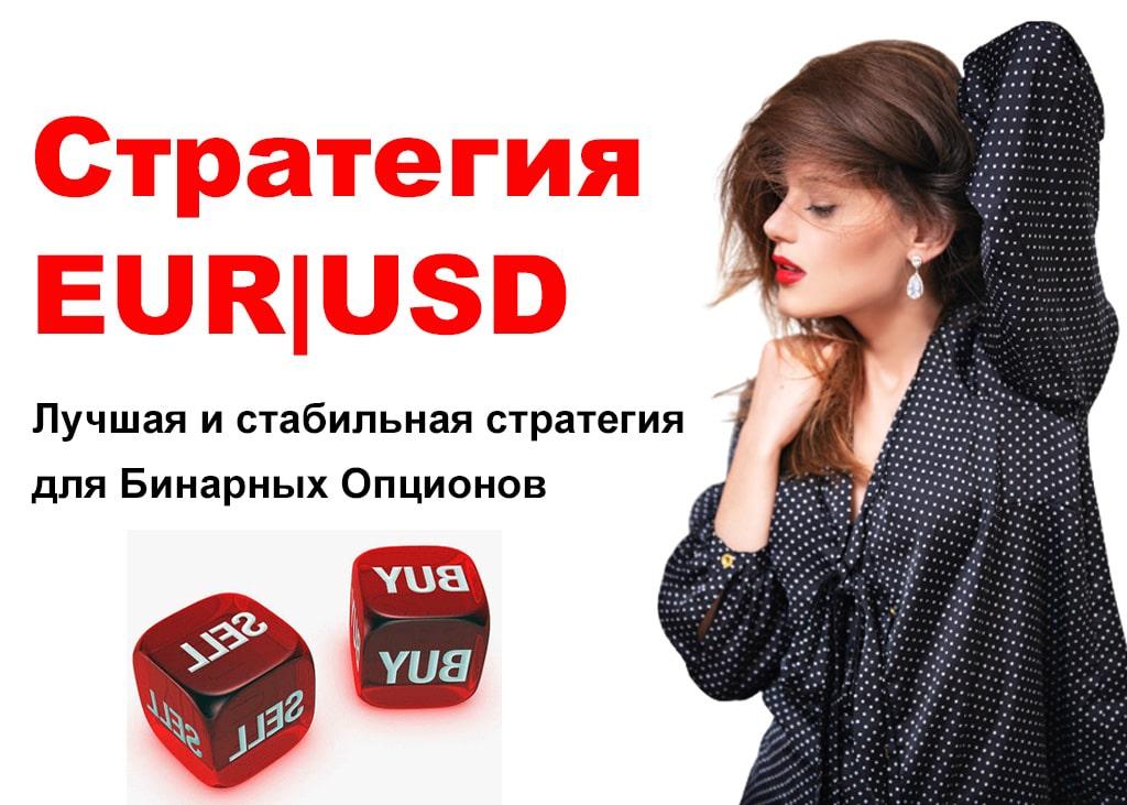 Стратегия EUR USD для Бинарных Опционов