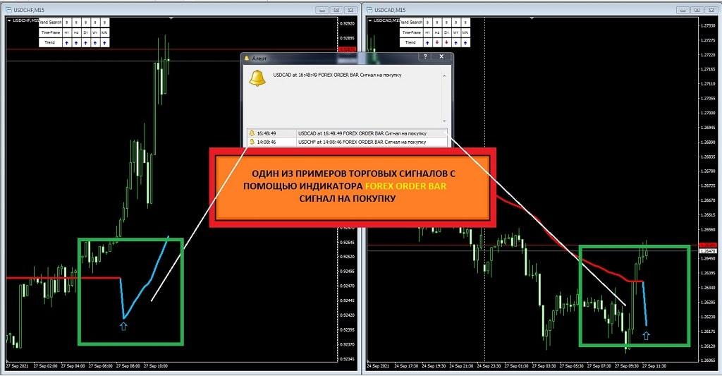 Forex Order Bar Первый торговый индикатор