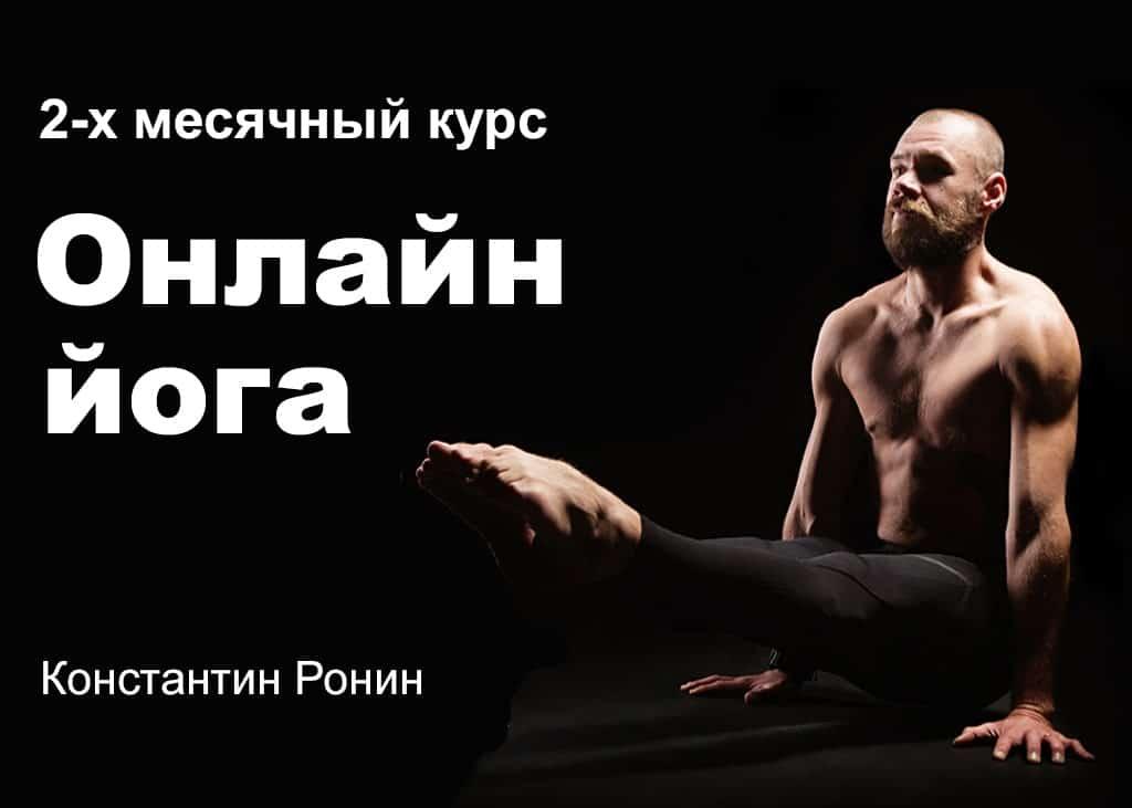 Онлайн йога в домашних условиях Константин Ронин