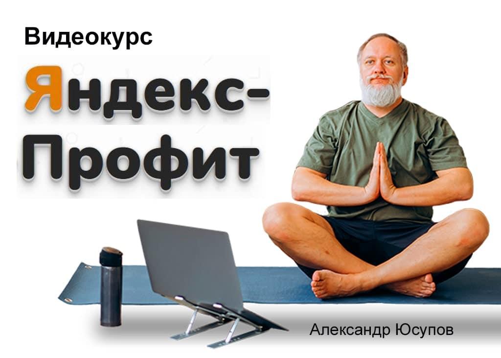 Яндекс Профит Александр Юсупов Сапыч
